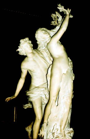 Bernini's Daphne and Apollo
