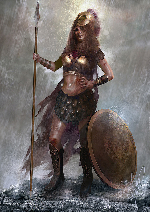 Athena (daughter of Metis) by George Patsouras