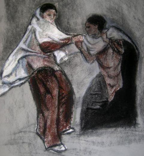 Dike Dragging Adikia, by S. L. Grace