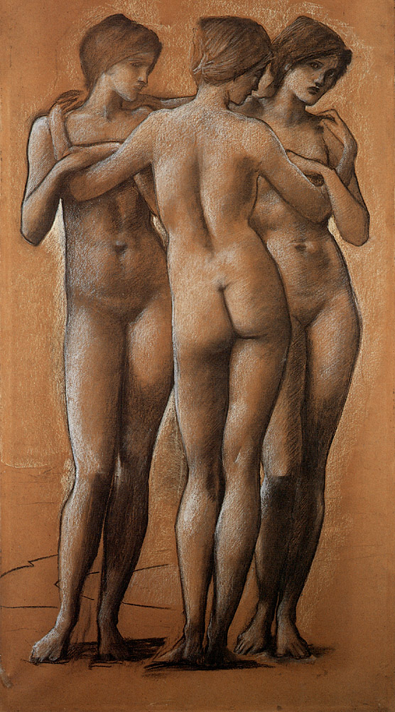 The Three Graces, by Edward Burne-Jones