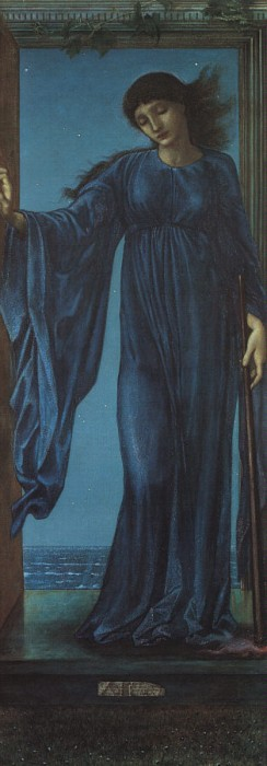 Night, by Edward Burne-Jones