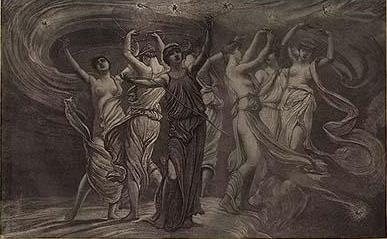 The Dance of the Pleiades